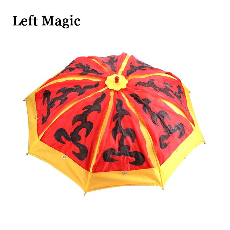 Parapluie changeant de couleur (changement de couleur une fois) Production de Parasol tour de magie parapluie couleur scène accessoires magiques accessoire magique