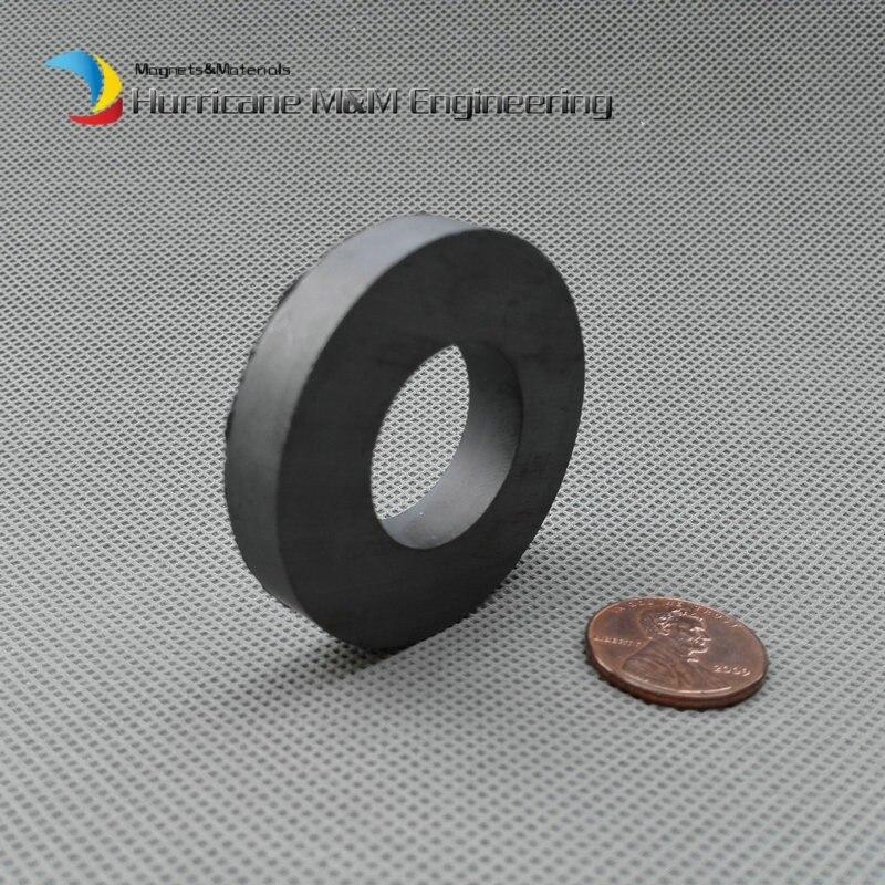 2pcs Ferrite Magnet Ring OD 45x22x8 mm 1.5 large grade C8 Ceramic Magnets for DIY Loud speaker Sound Box board home use e cap aluminum 16v 22 2200uf electrolytic capacitors pack for diy project white 9 x 10 pcs