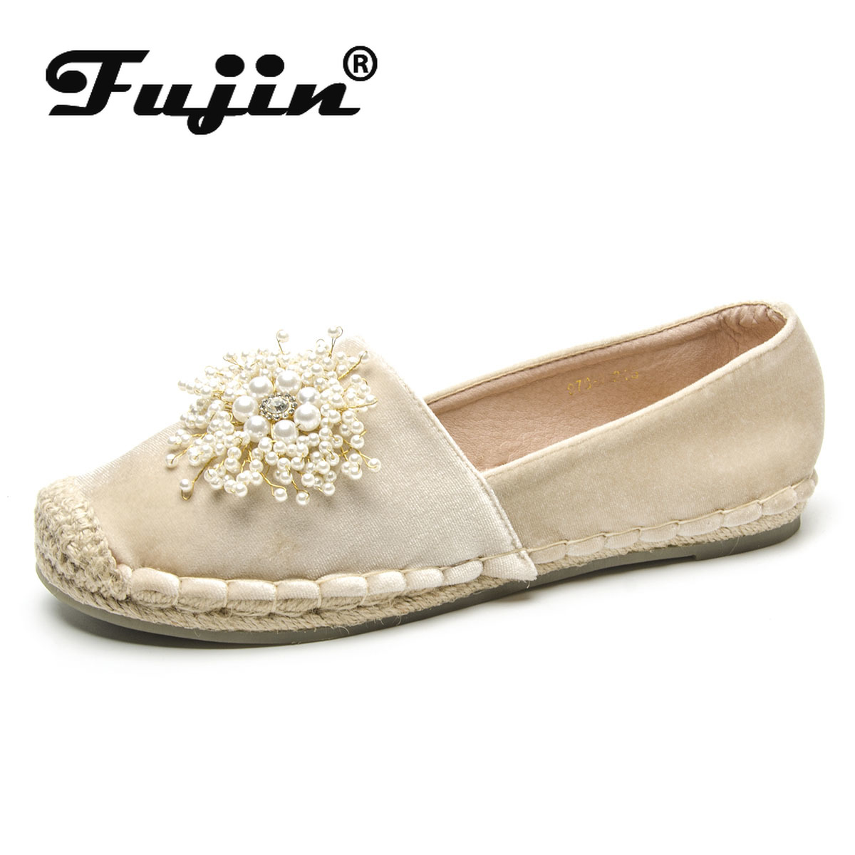 Fujin  Womens Flats Loafers Women Shoes Dropshipping Luxury Designers Chaussures Femme Ladies Fashion