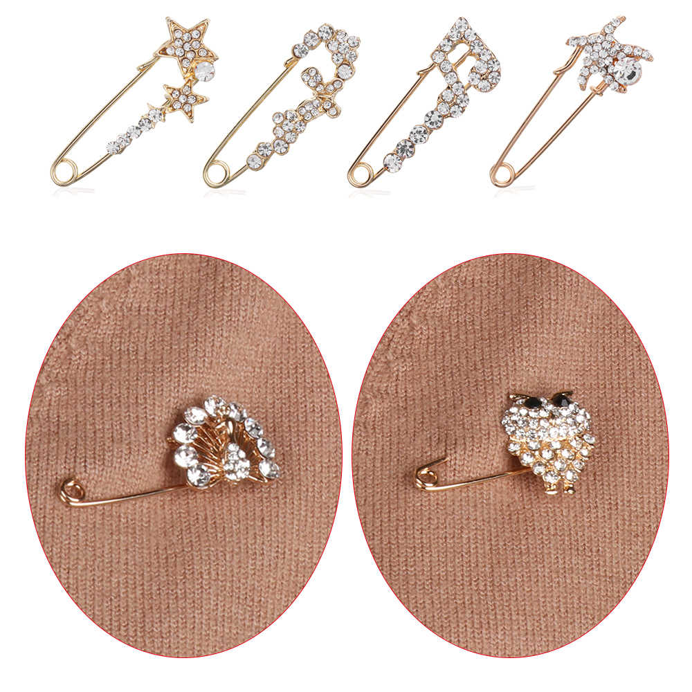 6557389d556 ... 1Pcs Fashion Style Large Vintage Hijab Pins And Brooches For Women  Animal Pins Brooches Jewelry Broche ...