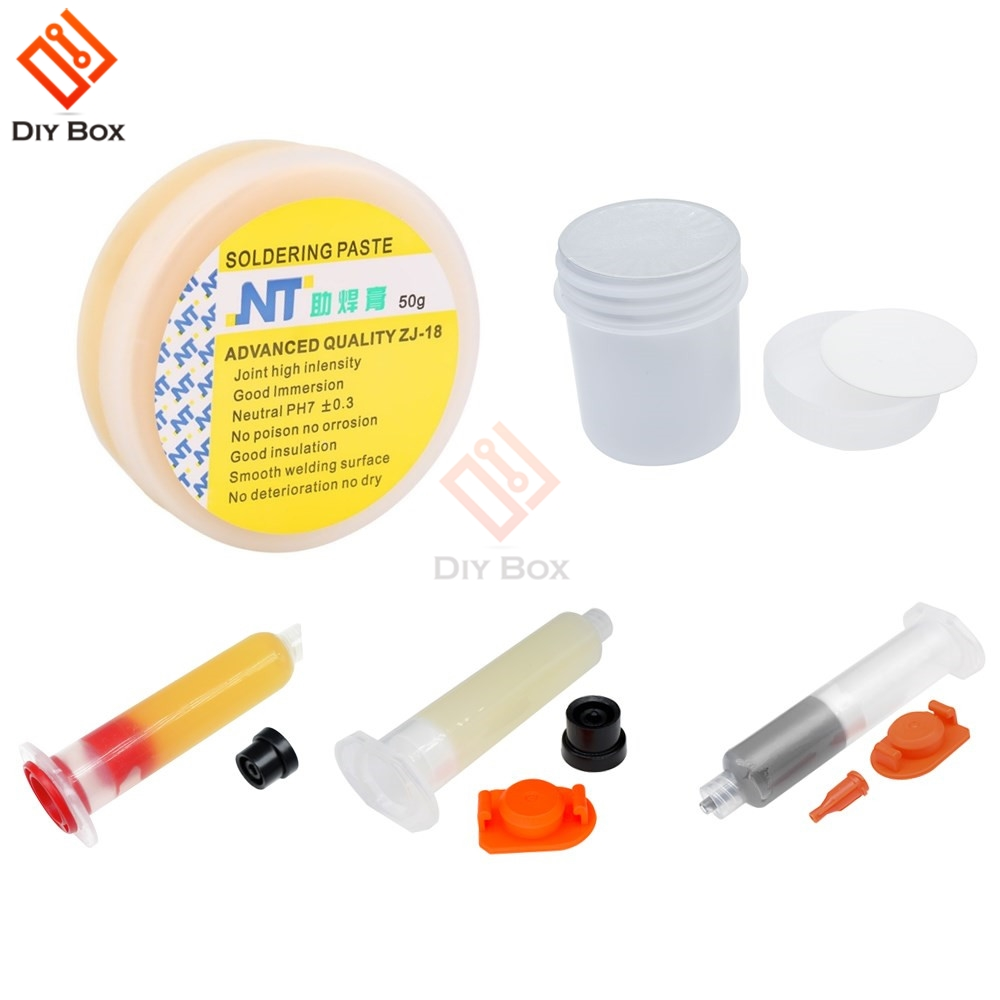 Soldering Flux XG-50 XG-Z40 RMA-223 NC-559-ASM Soft Solder Paste Welding Paste Gel For Phone PCB Teaching Resources Solid Pure