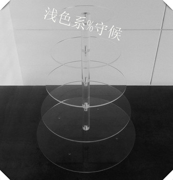 christmas of acrylic cake stand 5 tier round acrylic wedding cupcake stand birthday cupcake display for party decoration