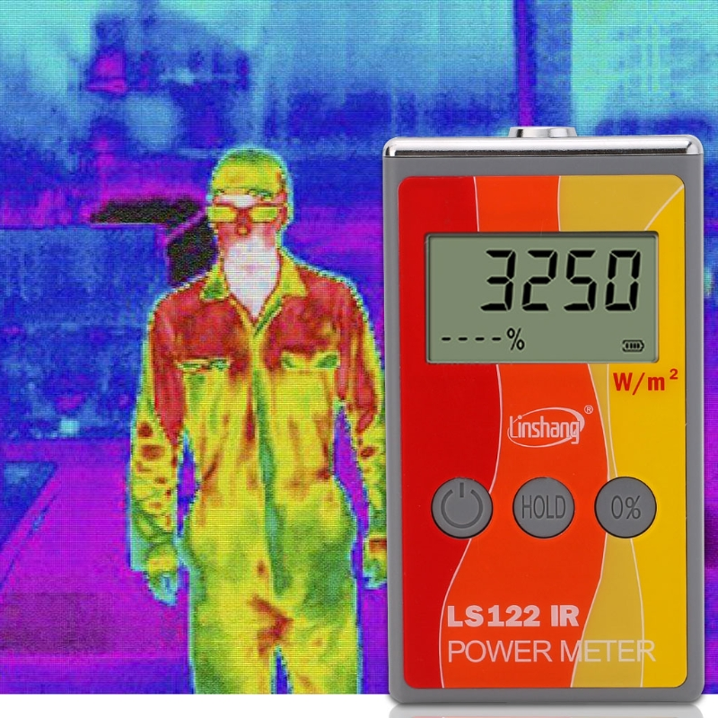 LS122 IR Solar Power Meter infrared intensity with Rejection Value Energy Tester Aug24 Drop Ship
