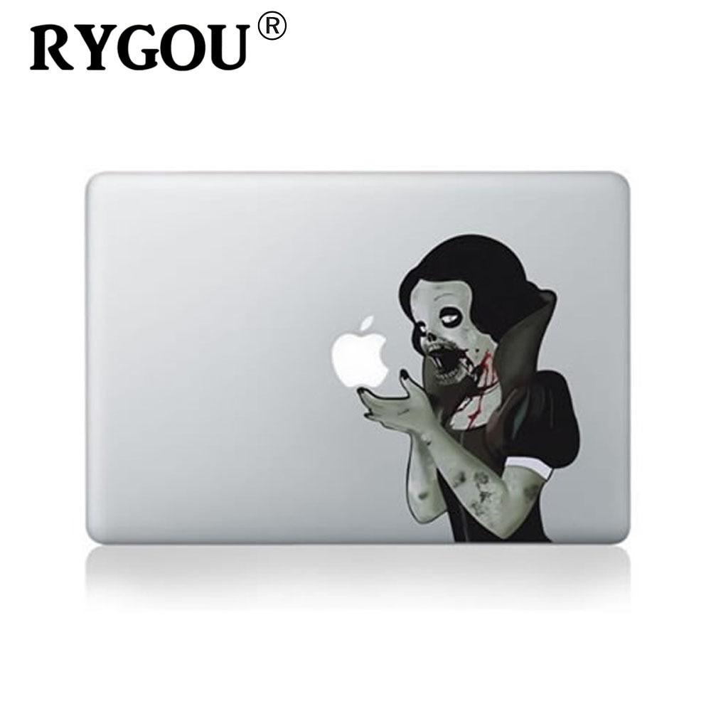 RYGOU Macbook Pro 13 Retina мультфильмдер үшін кәсіпқой дизайнға арналған винил жапсырмасы MacBook үшін 13 дюймдік ноутбук жапсырмалар