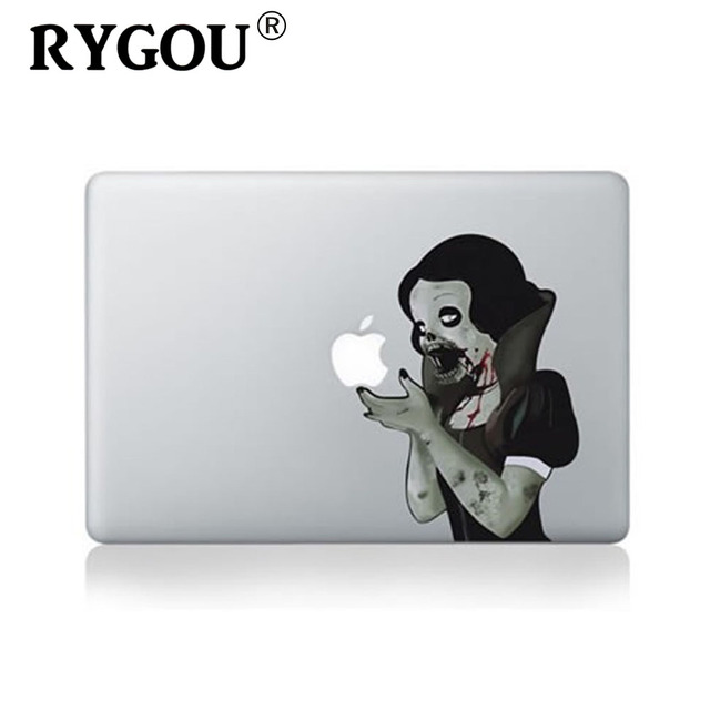 Rygou professionally designed vinyl sticker for the macbook pro 13 retina cartoon skin for macbook