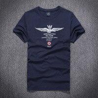 2017 New Arrival Aeronautica Militare Men T Shirt Male Casual Man Lapel T Shirt High Quality