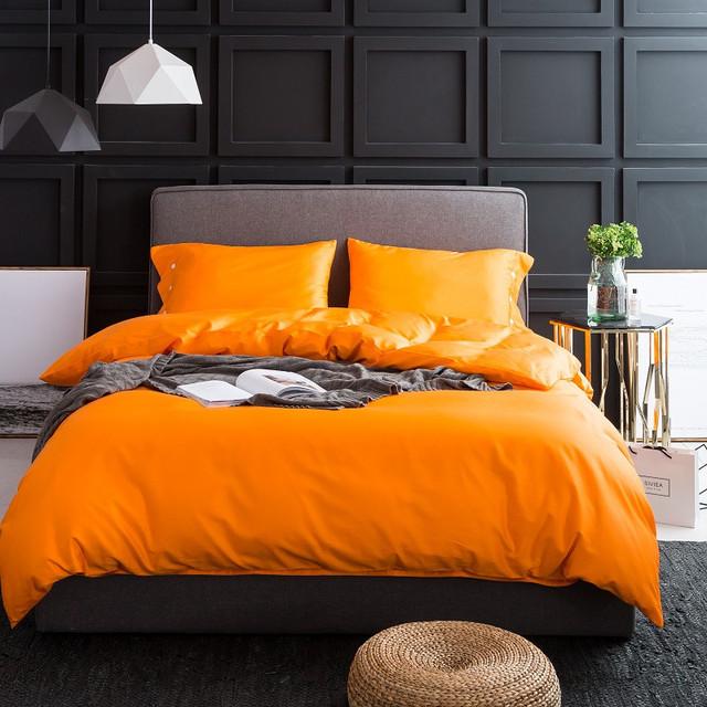 100% Egyptian Cotton Duvet Cover Bedding set (23 colors)