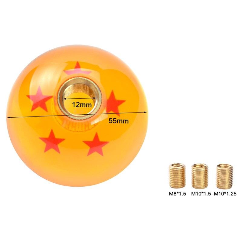 Dragon Ball Schaltknauf Universal Racing Stick Kühlen Acryl Schaltknauf Neue Auto Knopf Auto Styling