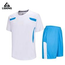 Chicos nuevos mens survetement fútbol set transpirable niños jersey de  fútbol sin pintura camisetas ropa deportiva 4bbd20366cd78