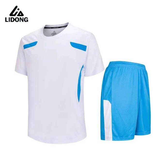 New boys mens Survetement football jerseys set breathable Kids soccer jersey  Paintless shirts sports wear teens. placeholder ... b9c386bdb