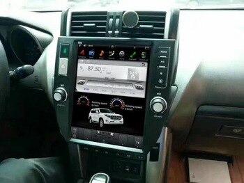 Tesla style Screen Newest Android 6.0 64+2GB Car No DVD Player GPS Navigation For TOYOTA Land Cruiser Prado 150 2014+ CAMERA