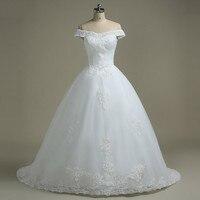 2018 Backlackgirl Off the Shoulder высокое качество элегантные свадебные платья свадебное платье свадебные шеи длинные белые свадебные платье