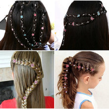 2020 New Girl Hair Extension Rhinestone Tool Glitter braid h