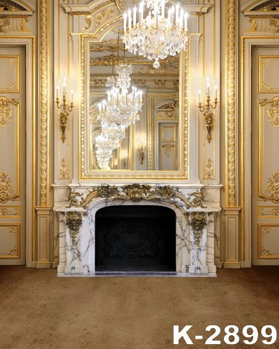 Top Quality Luxury Royal Photo Backdrops 15X2m Digital