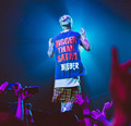 Men Streetwear Kpop bigbang Hip Hop Clothes Fashion graphic tees fear of god oversized muscle T shirt Summer Tops justin bieber