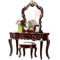 American furniture bedroom dresser vanity makeup mirror combination dressing table