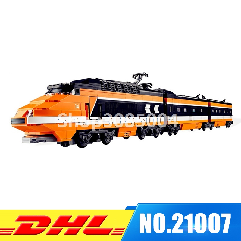 Lepin 21007 Technic Series The Horizon Express Model 10233 Horizon Train Educational Building Blocks Bricks Toys 1351pcs Gift бокорезы brigadier 21007