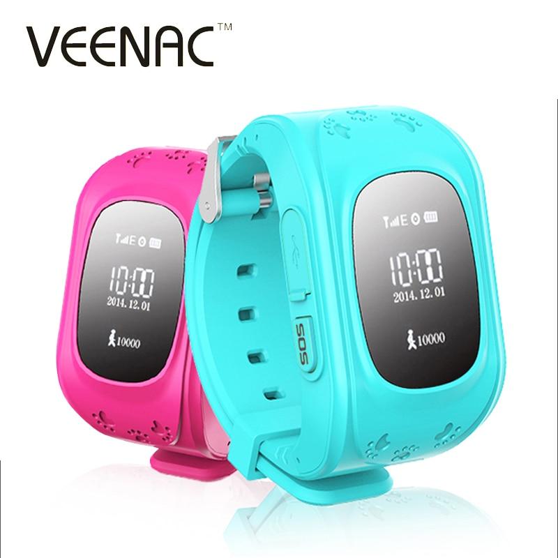 imágenes para VEENAC Q50 GPS Smart Kid Safe Reloj Inteligente Llamada SOS Localizador Localizador Rastreador para Contra El Niño Perdido de Monitor de Bebé reloj de pulsera
