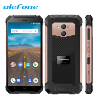 Ulefone Armor X Smartphone 5.5 18:9 Face ID Dual 4G Sim Android 8.1 MT6739 2G+16G 13MP NFC 5500mAh Wireless Charge Mobile Phone