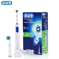 Brands Oral B Rechargeable Electric Toothbrush Oral Hygiene PRO600 Plus Teeth Whitening Rotating Electric Tooth Brush