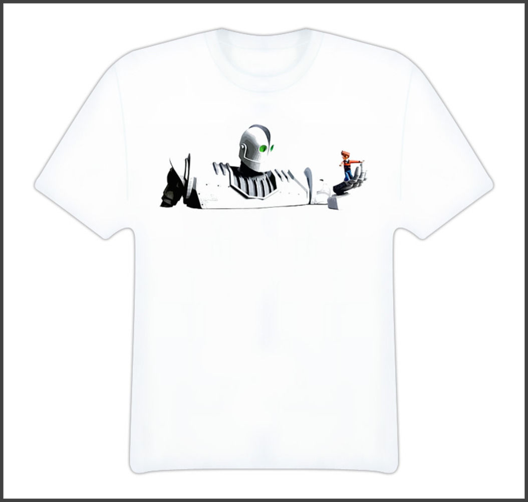 The Iron Giant Movies T Shirt