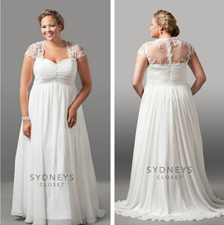 Wd2007 with jacket plus size cheap country western wedding for Country western wedding dresses