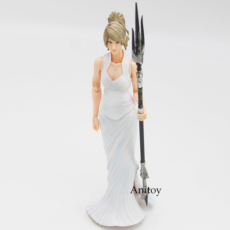Play Arts KAI Final Fantasy XV 15 Lunafreya Nox Fleuret PVC Action Figure Collectible Model Toy 25cm