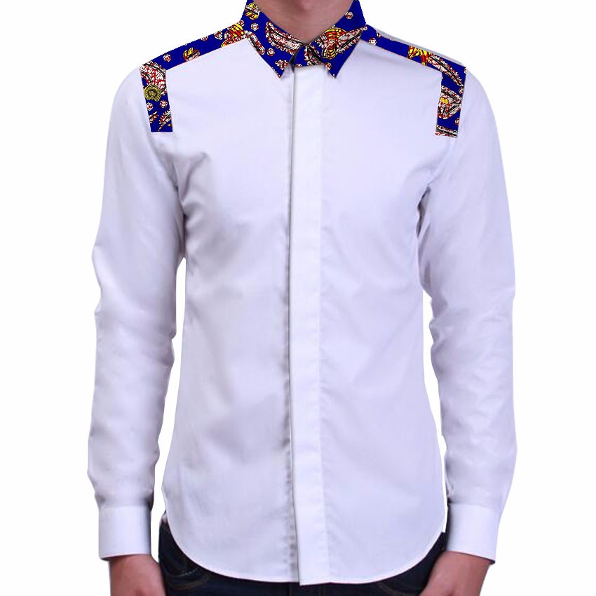 African Print Mens Shirts Tailored Made Patchwork Designs Africa Clothing African Fashion Dashiki Clothes In Tuxedo Shirts From Weddings Events
