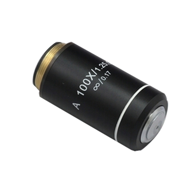 цена на 100x Achromatic Infinite Infinity Plan Objective Lens for Biological Microscope Zeiss Olympus Infinity Microscope