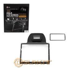 GGS III LCD Screen Protector de vidro para NIKON D7100 DSLR