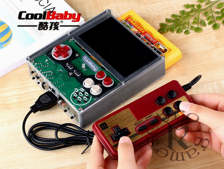 Retro GamesX7 4.3inch Portable Handheld Game Players  DIY hand-hard solution Video Game Console  2