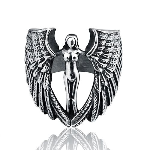 H1 ~ H24 angelo pendente di figura fatto di acciaio inossidabile di modo bello bello per la bambina