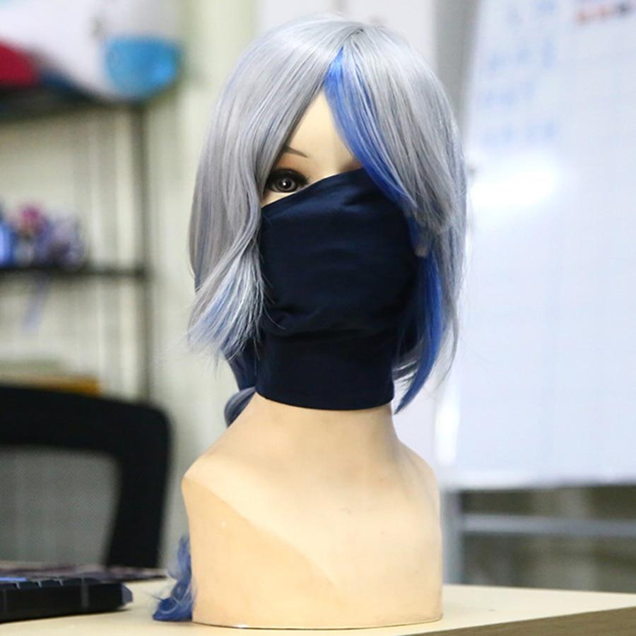 Japanese Anime NARUTO Hatake Kakashi Masks Cosplay Costume Accessories Cotton Mask