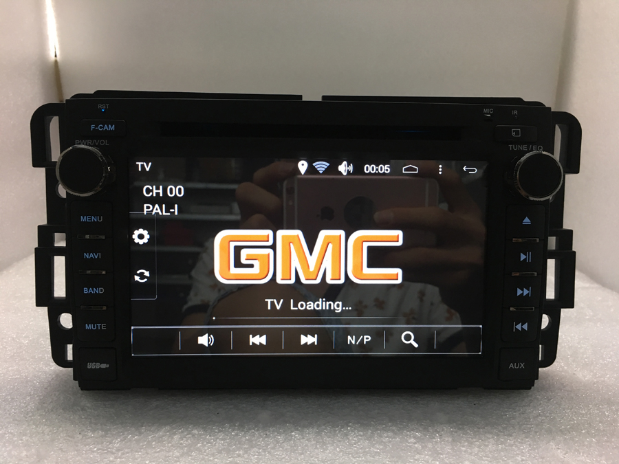BYNCG Navirider OS 8.0 Car Android Player For GMC 7inch stereo CAR radio gps navigation bluetooth TDA7388 Amplifier sound System