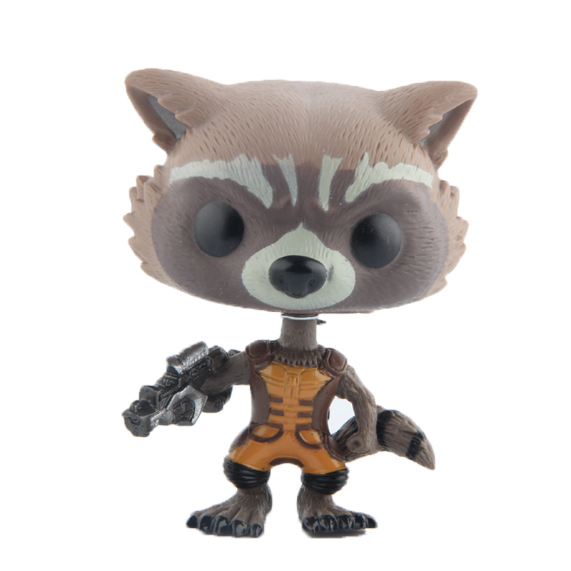 Elsadou #48 Guardians of the Galaxy Rocket Vinyl Action & Toy Figures Children Toys Doll