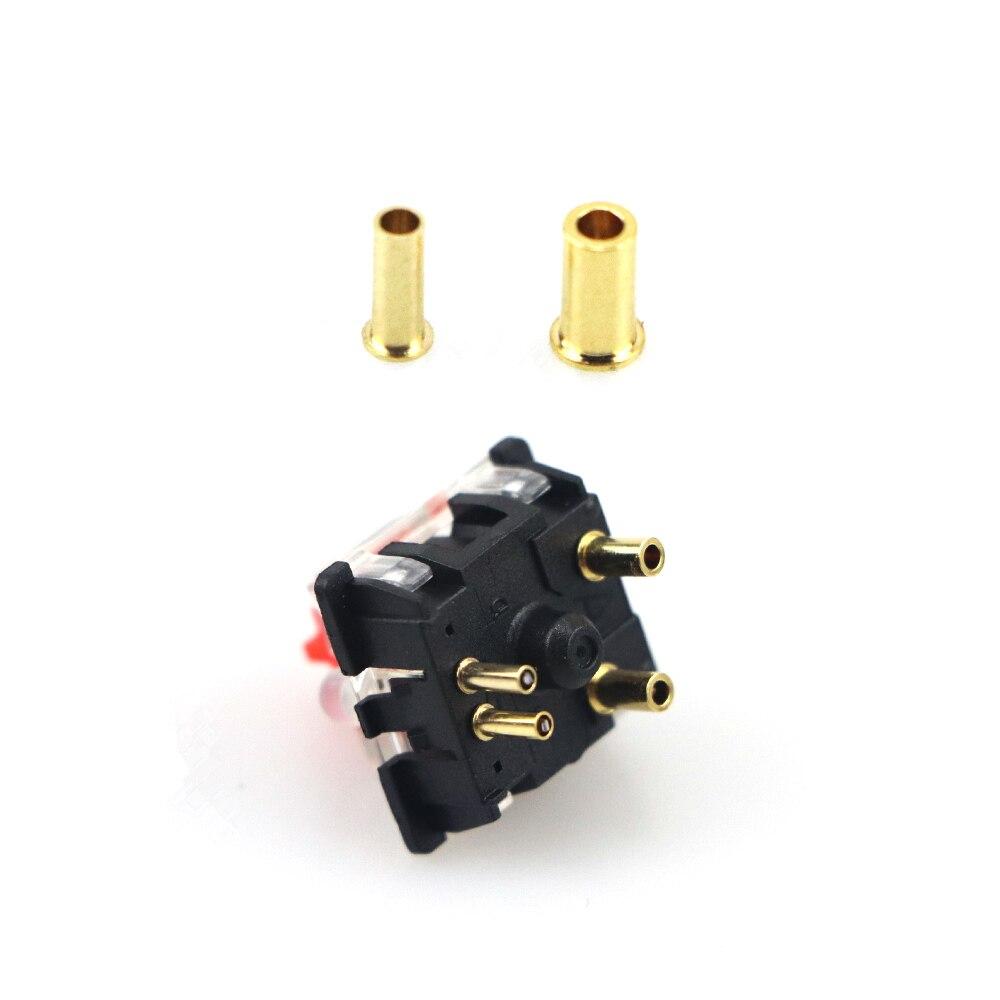 Interruptor & troca quente do diodo emissor de luz 32 pces para teclado mecânico diy