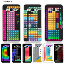 MaiYaCa Elemental Design Periodic Table phone Case for Samsung 2015 A3 5 7 8 9 2016 A3 5 7 for Samsung Note 4 5(China)
