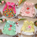 more 18 designs New 2017 dresses girls Baby blue/white/pink/red/green dress girl dresses christmas party dresses costumes
