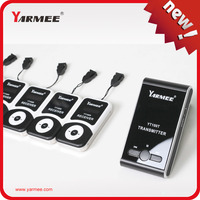 YARMEE YT100 Support 99 Channels Wireless Tour Guide System for Tour Guide Equipment YT100 ( 2T and 30R )