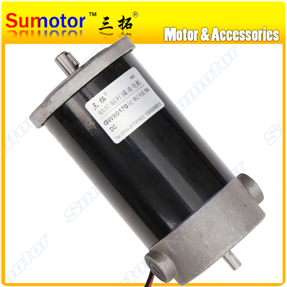 12V 24V 1600 1800 3500 RPM Electric DC motor Tail axle Back shaft for encoder High torque Large power for Pump Industry machine