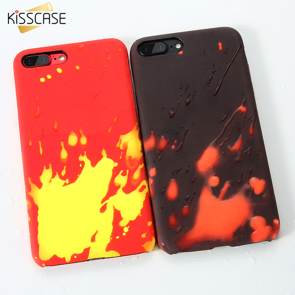 huge selection of 96070 0fe6c US $2.99 35% OFF|KISSCASE Cool Thermal Sensor Soft Case For iPhone 5 5s SE  Color Changing Cover Ultra Thin Phone Cases For iPhone SE 5 5s -in Fitted  ...