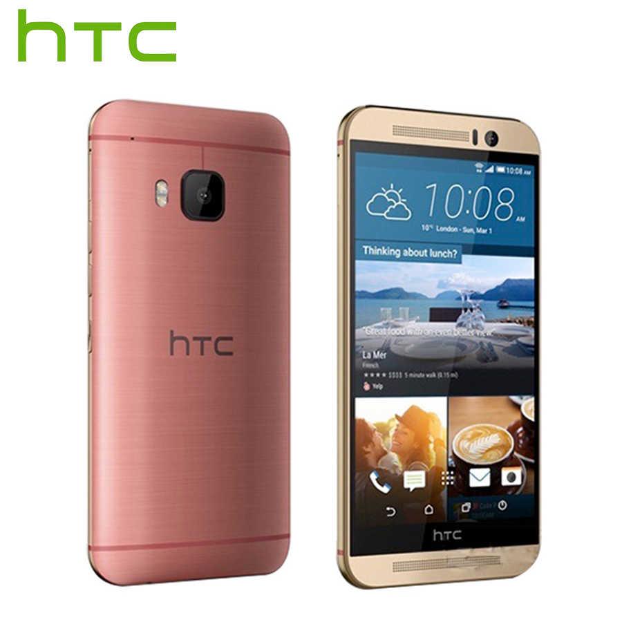 At& T версия Оригинальный htc One M9 4G LTE мобильный телефон Восьмиядерный 3 ГБ ОЗУ 32 Гб ПЗУ 5,0 дюймов 1920x1080 задняя камера 20МП мобильный телефон