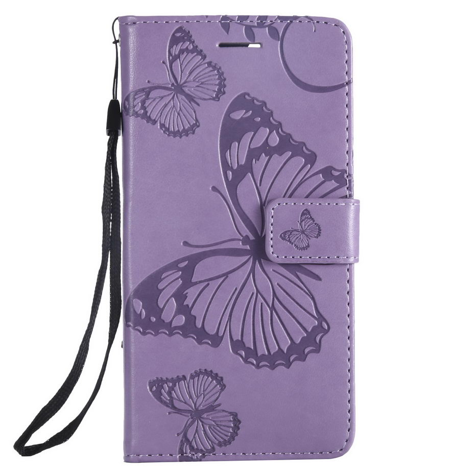 Case For Google Pixel 2 Case 3D Butterfly Leather Wallet Card Holder For Google Pixel 2 Cover Coque Pixel2 Flip Cases