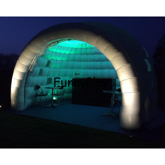 inflatable meeting tentgiant inflatable white dome igloo tentsair dome shaped tent inflatable igloo tent with led lights  sc 1 st  AliExpress.com & inflatable meeting tentgiant inflatable white dome igloo tentsair ...