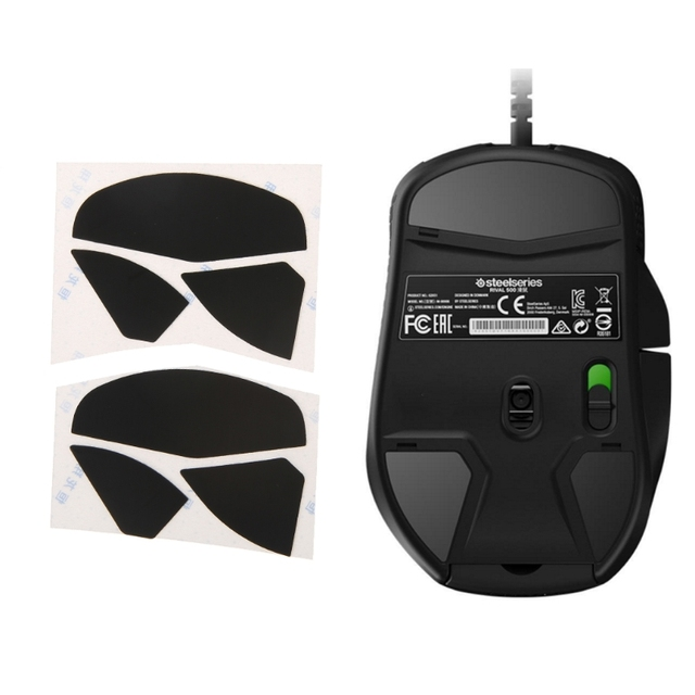 7a2427ef82c 2 Sets 0.6mm Thickness Replacement Mouse Feet Skates for steelseries Rival  500