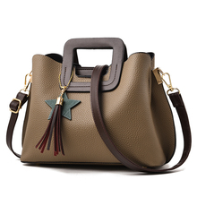 SUONAYI PU Leather Bags Handbags Women Famous Big Women Crossbody Bag Trunk Tote Designer Shoulder Bag Ladies large Bolsos Mujer цена в Москве и Питере