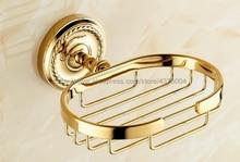 Luxury Gold Brass Soap Basket Wall Mounted Soap Dish Holder Soap Box Oval Shape Basket Bathroom Accessories Nba607 конторович александр сергеевич имперец книга 2 за державу обидно
