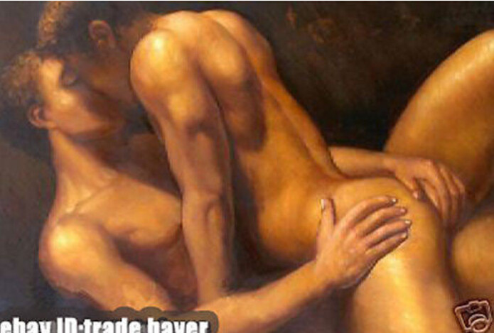 from Kyree art buy erotic gay male