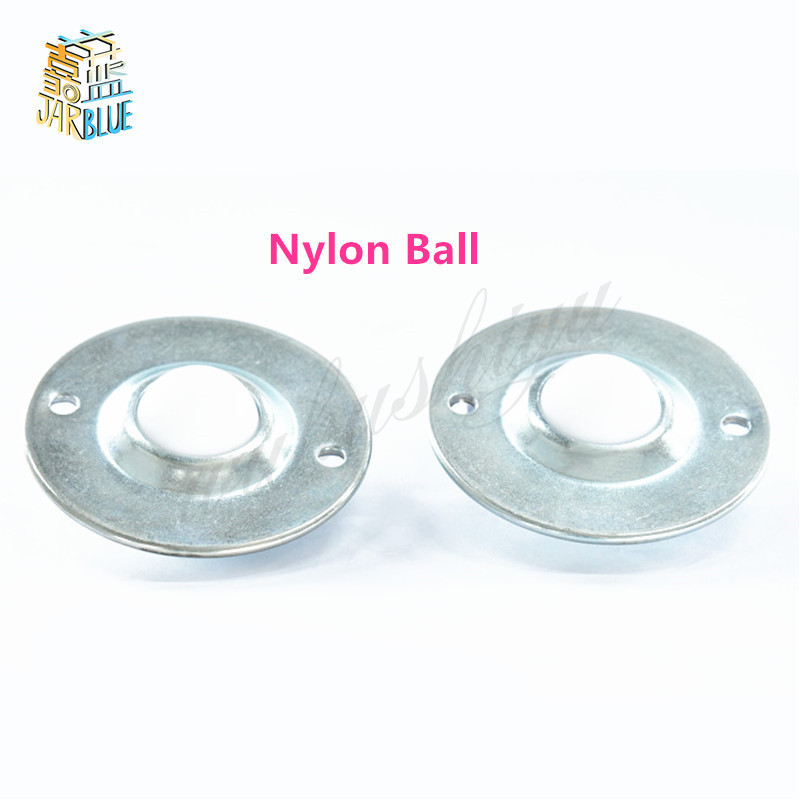 5 Pcs/lot CY-12B CY-16B B Type UFO Flying Saucer Type Nylon Ball Metal Transfer Bearing Unit Conveyor Roller Wheels cy bk