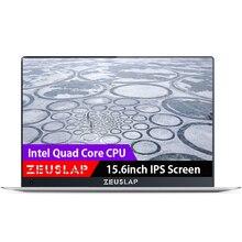 Четырехъядерный процессор Intel Atom CPU дюймов 15,6 ультратонкие Ultrabook оконные рамы 10 системы 1920*1080 P FHD IPS экран wi fi ноутбука тетрадь компьютер